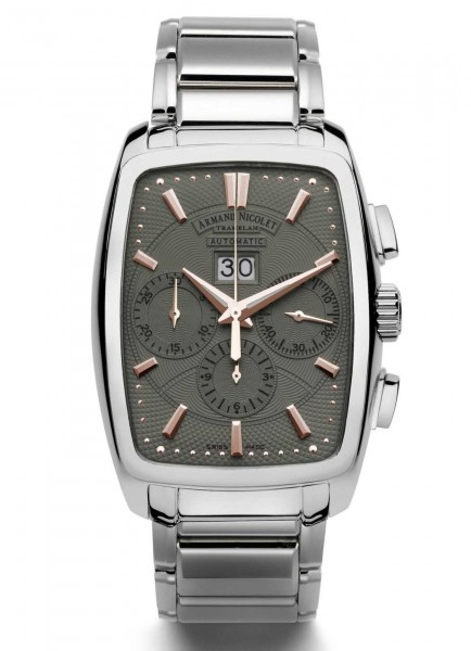 Armand Nicolet TM7 Big Date & Chronograph 9638A-GS-M9630